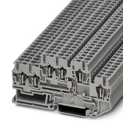 Doppelstock-Zugfederklemme STTB 2,5-TWIN