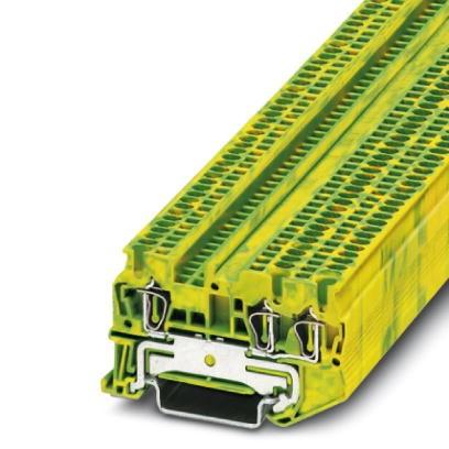 Schutzleiter-Reihenklemme ST 1,5-TWIN-PE