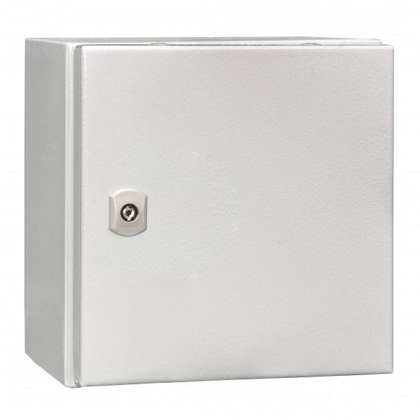 Wandschrank 1-Tür IP65 H=300 B=300 T=210mm Stahlblech
