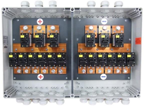 BMZ Battery Breakerbox 2x Batterie, 1ph
