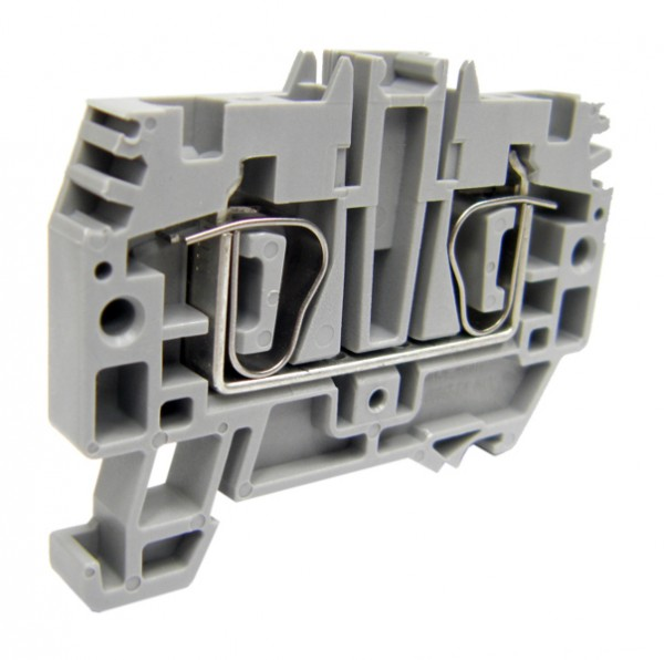 Federkraftklemme HMM.6 grau, 6mm²