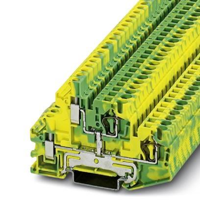 Doppelstock-Zugfederklemme STTBU 4-PE