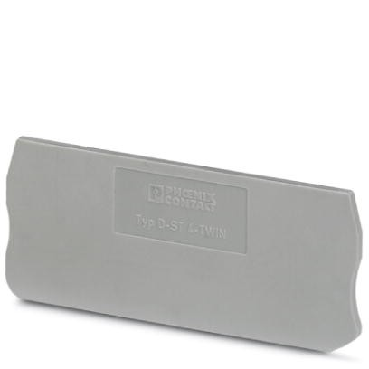 Abschlussdeckel D-ST 4-TWIN