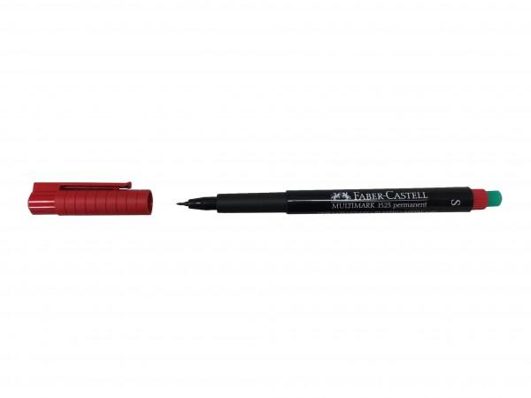 Beschriftungsstift (Permanent Marker), rot