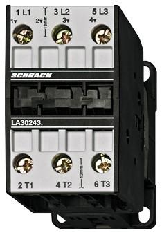 Leistungsschütz, 15kW, 32A AC3, 65A AC1, 3polig, 230VAC