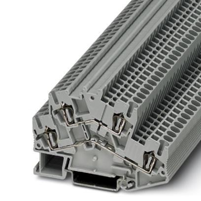 Doppelstock-Zugfederklemme STTBS 2,5 BU