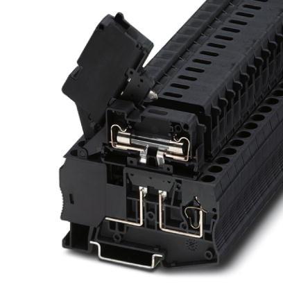 Sicherungsreihenklemme ST 4-HESILED 24 (6,3X32)