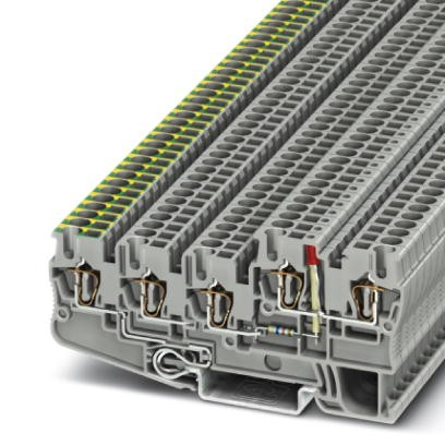 InstallationsschutzleiterklemmeSTIO 2,5/4-PE/2B/L-LA24RD/O-M