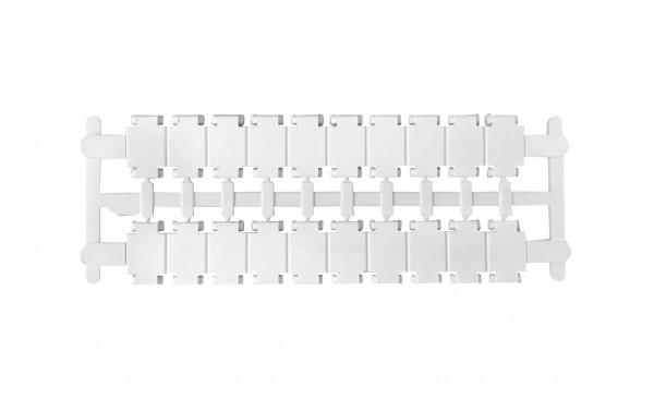Nummerierungsschilder leer für Klemmen-Type HMM & HTE