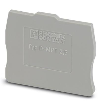 Abschlussdeckel D-MPT 2,5