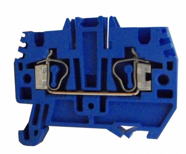 Federkraftklemme HMM.2 blau, 2,5mm²