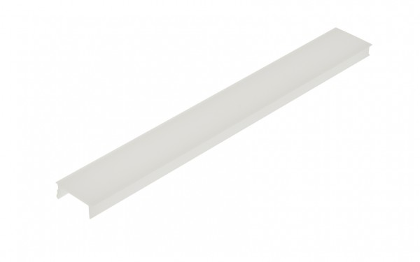 Kunststoffabdeckung LB flach opal - 2m