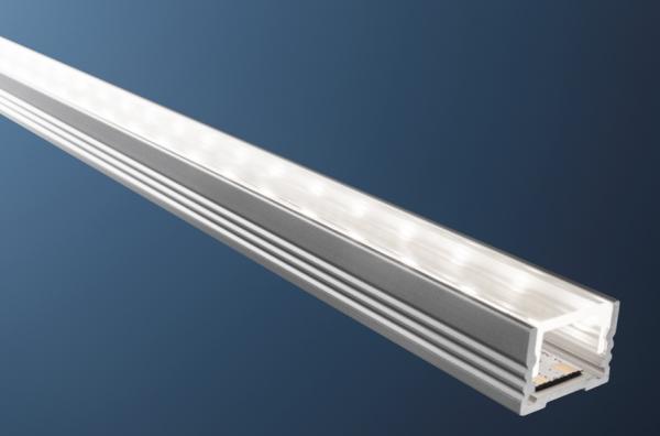 Profil Alu flach 18.4 x 13mm