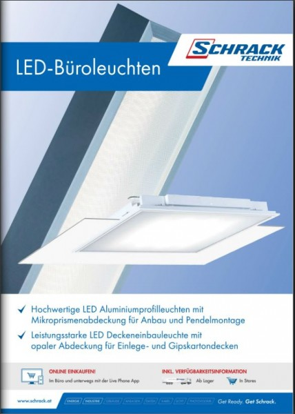 Folder LED Büroleuchten 2015