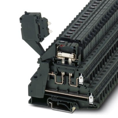 Sicherungsreihenklemme TB 4-2L-HESILED 60 (5X20) I