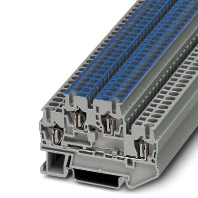 Doppelstock-Zugfederklemme STTB 2,5-L/N