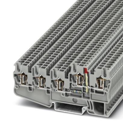 Initiatoren-/Aktorenklemme STIO 2,5/4-3B/L-LA24GN/O-M