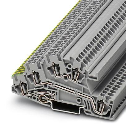 Installationsschutzleiterklemme STI 2,5-PE/L/L