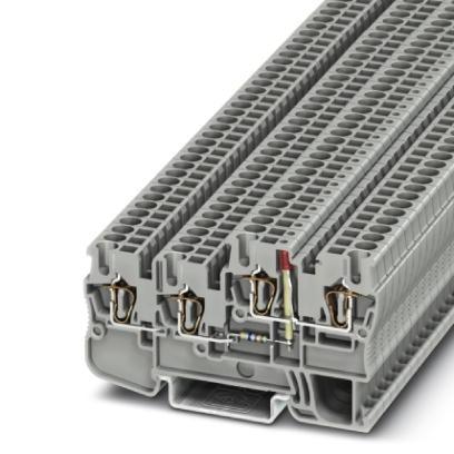 Initiatoren-/Aktorenklemme STIO 2,5/3-2B/L-LA24GN/O-M