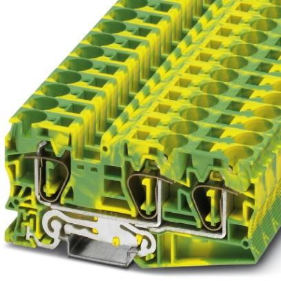 Schutzleiter-Reihenklemme ST 16-TWIN-PE
