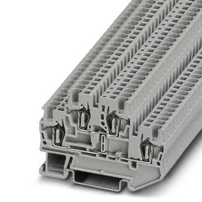 Doppelstock-Zugfederklemme STTB 1,5