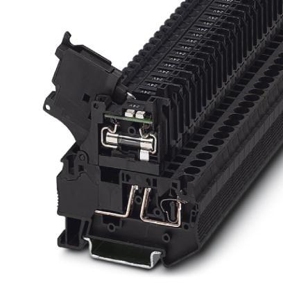 Sicherungsreihenklemme ST 4-HESILED 24 (5X20)