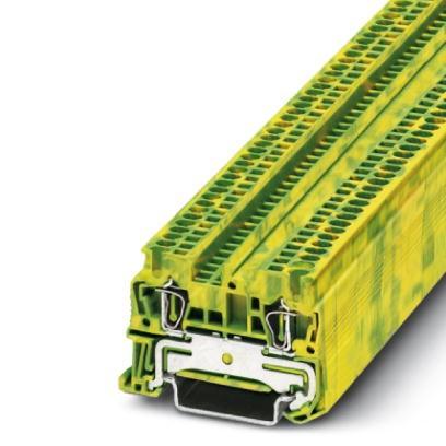 Zugfeder-Schutzleiterklemme ST 1,5-PE