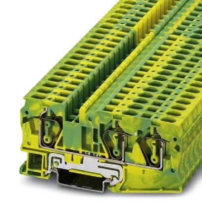 Schutzleiter-Reihenklemme ST 6-TWIN-PE