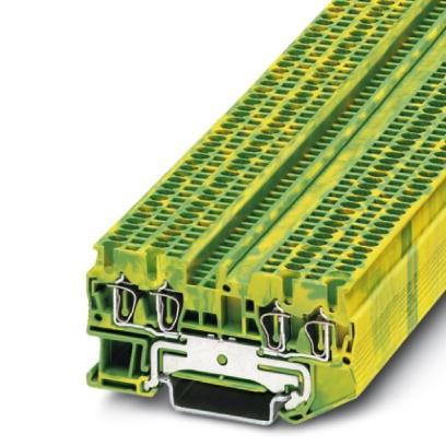 Schutzleiter-Reihenklemme ST 1,5-QUATTRO-PE
