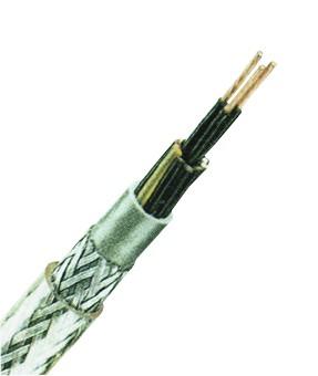 YSLYQY-JZ 4x2,5 PVC-Steuerleitung mit Stahlgeflecht