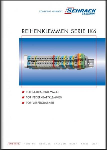 Folder zu Reihenklemmen Serie IK 6