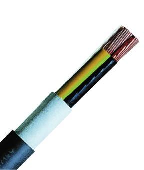 N2XH-J 5x2,5re schwarz, halogenfreies Kabel, eindrähtig