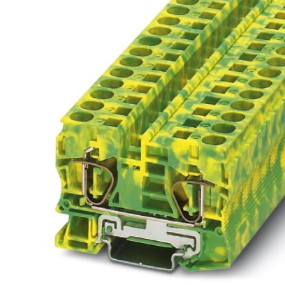 Schutzleiter-Reihenklemme ST 10-PE