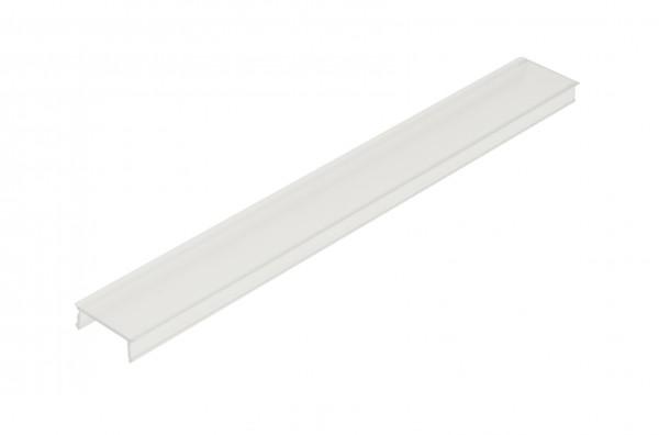Kunststoffabdeckung LB flach transparent - 2m