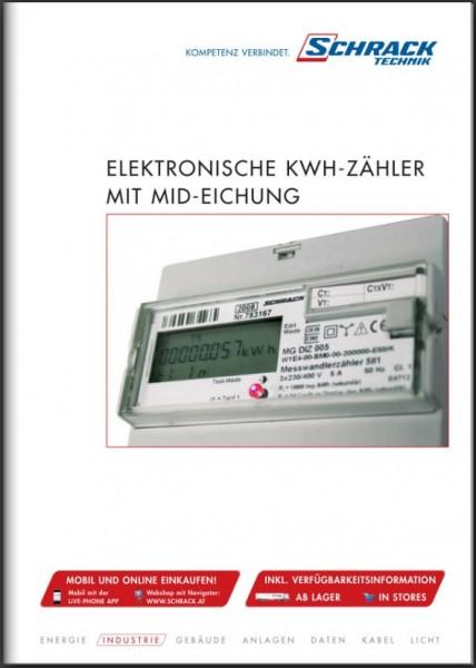 Folder KWH-Zähler mit MID-Eichung MIZ, DIZ, KIZ