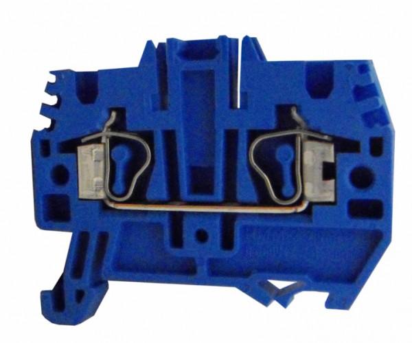 Federkraftklemme HMM.4 blau, 4mm²