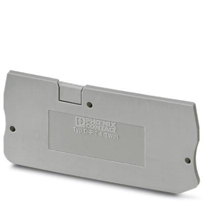 Abschlussdeckel D-PT 1,5/S-TWIN-MT-0,8 OG