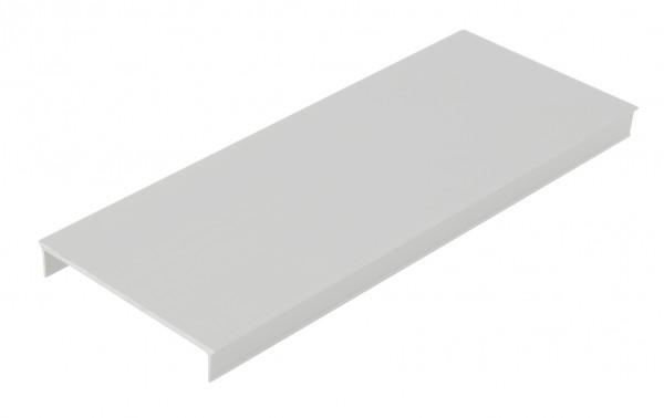Aluminium Abdeckung SL, L-2000mm B-58,3mm H-9,6mm