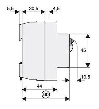 fi schalter fu fest 63a 4 polig 300ma bauart s typ a. Black Bedroom Furniture Sets. Home Design Ideas