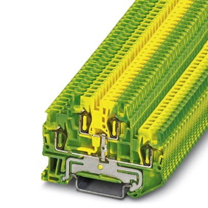 Schutzleiter-Doppelstockklemme STTB 1,5-PE