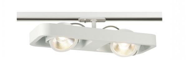 LYNAH LED double Strahler weiß,24°,inkl. 1P Adapter,3000K
