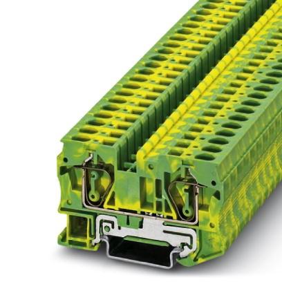 Schutzleiter-Reihenklemme ST 6-PE