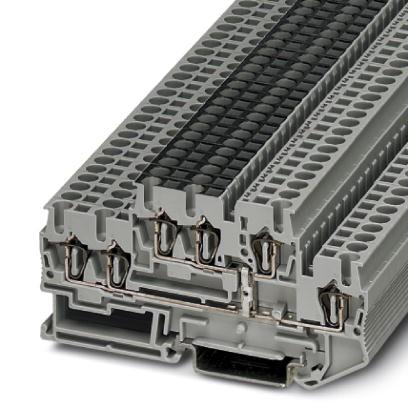 Doppelstockklemme STTB 2,5-TWIN-PV