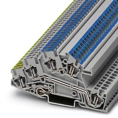 Installationsschutzleiterklemme STI 2,5-PE/L/N