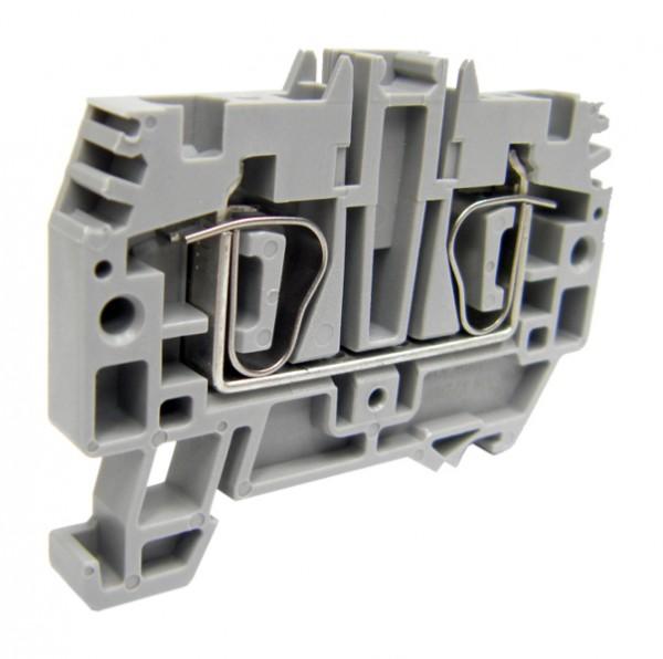 Federkraftklemme HMM.4 grau, 4mm²