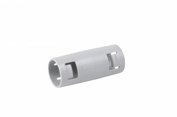 Flex-Muffe M63 zugfest-dicht, Karton 8Stk, hellgrau