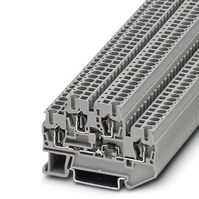Bauelementreihenklemme STTB 2,5-2DIO/O-UL/UR-UL