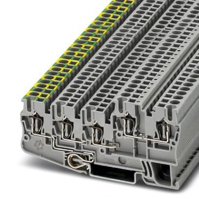 Installationsschutzleiterklemme STIO 2,5/4-PE/2B/L