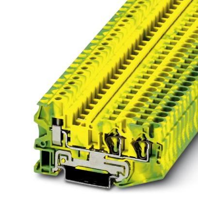 Schutzleiter-Reihenklemme STU 4-TWIN-PE