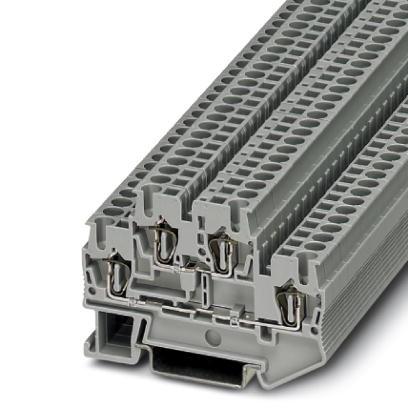 Doppelstock-Zugfederklemme STTB 2,5